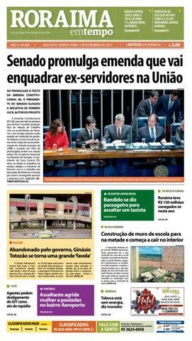 74a94af1e Jornal roraima em tempo – edição 802 by RoraimaEmTempo - issuu