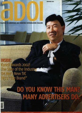4359aafb1ac2 Adoi Malaysia 2002 November Issue by Sledgehammer Communications (M ...