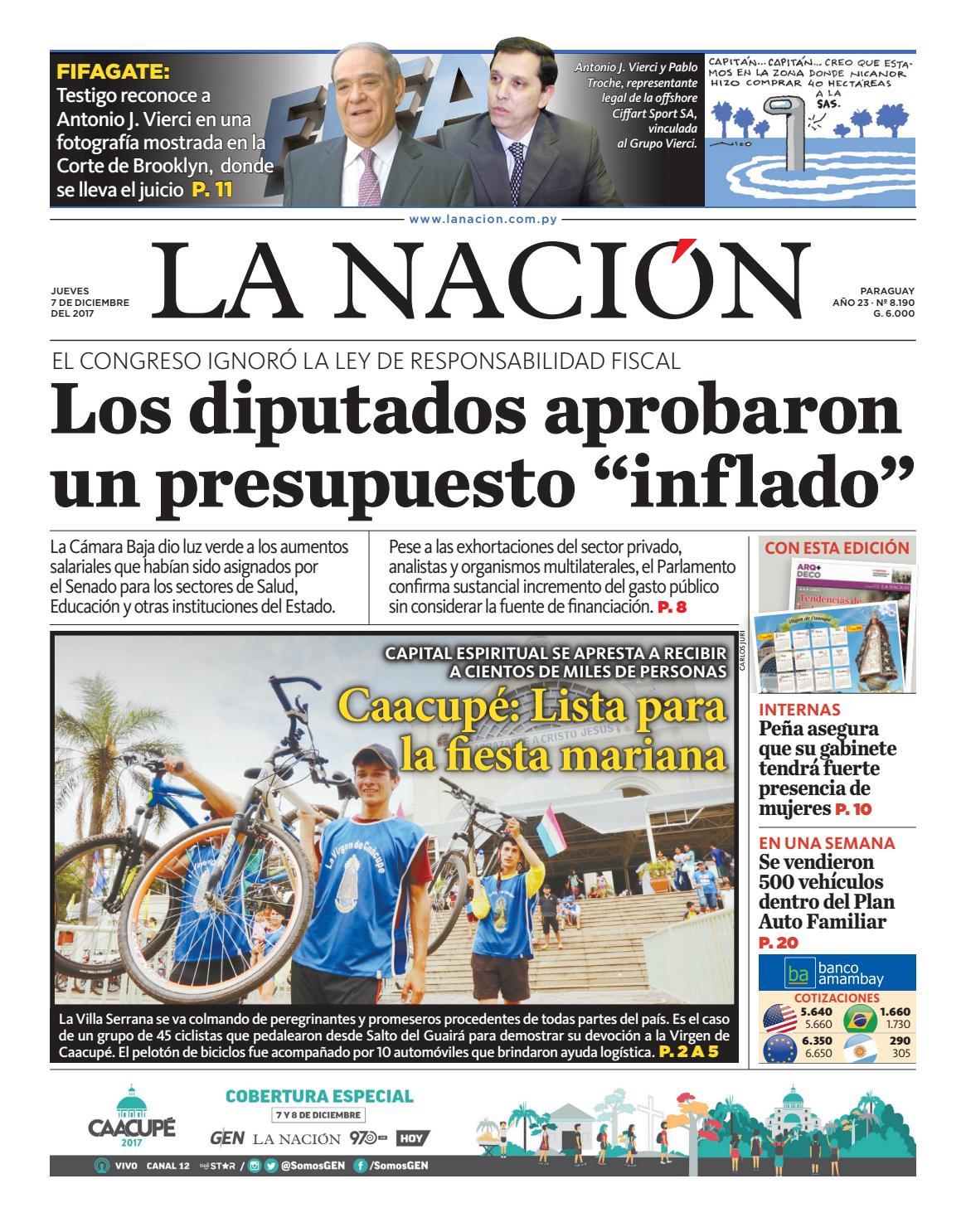 DIARIO LA NACIÓN - EDICIÓN 8.190 by La Nación - issuu 727230e2db6