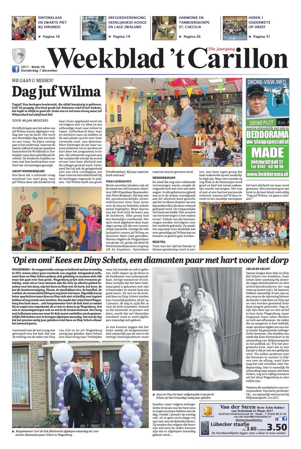 Weekblad  t Carillon 07-12-2017 by Uitgeverij Em de Jong - issuu 604852d41e