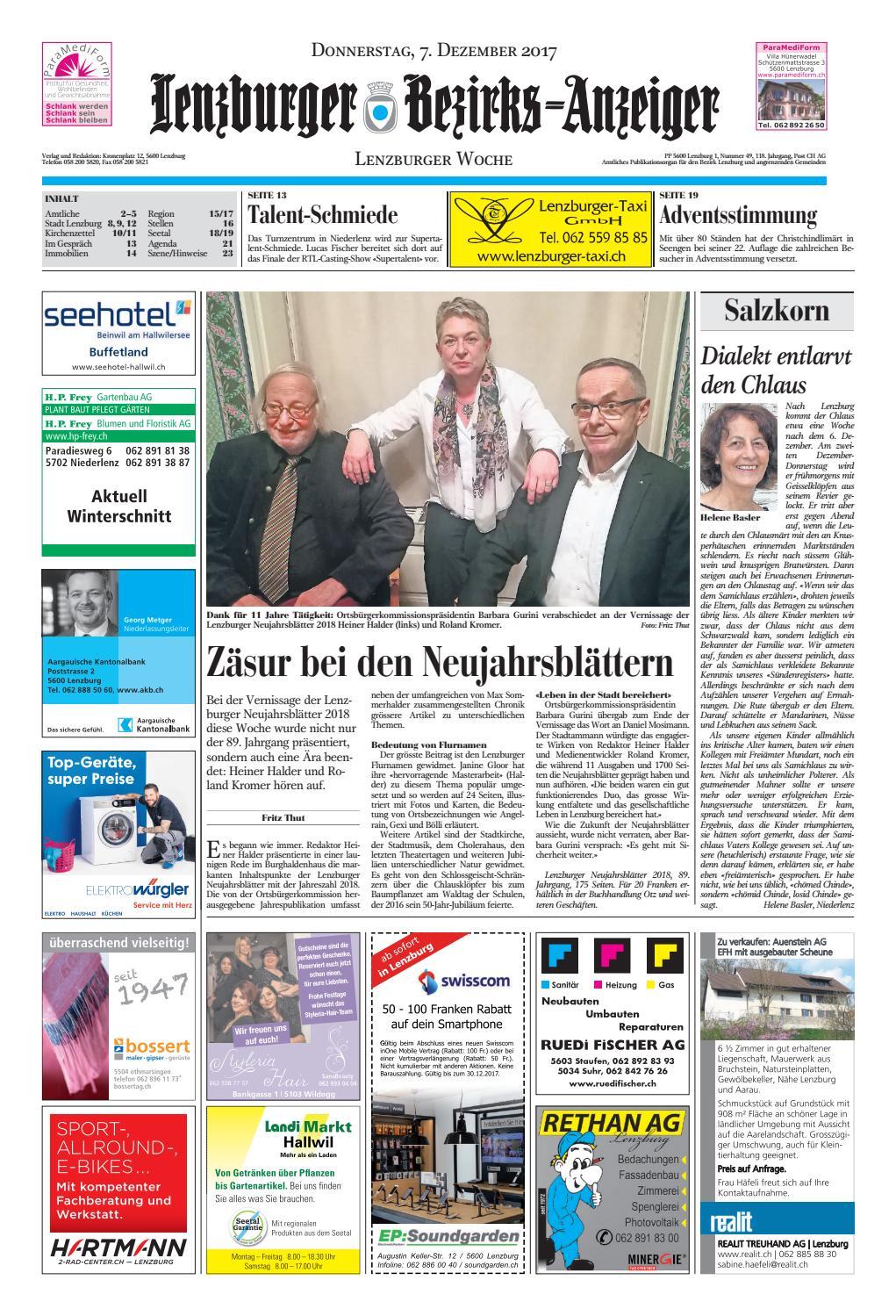 20171207 Woz Lbaanz By Az Anzeiger Issuu