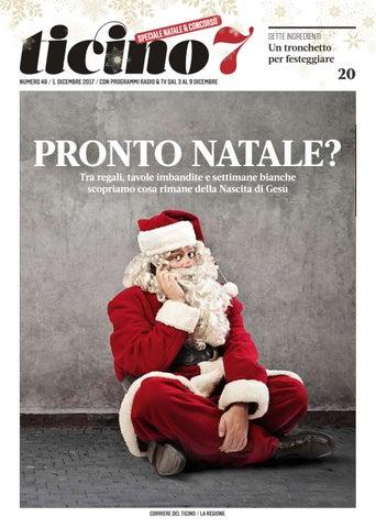 Cotto E Mangiato Tronchetto Di Natale.Ticino7 By Ticino7 Issuu