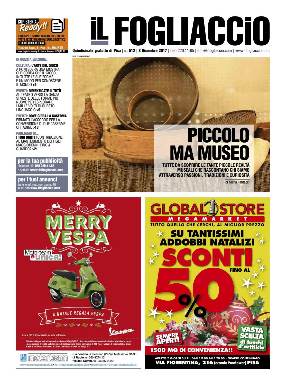 edizione 512 del 8 Dicembre 2017 by Il Fogliaccio - issuu 8d9ac56d300b