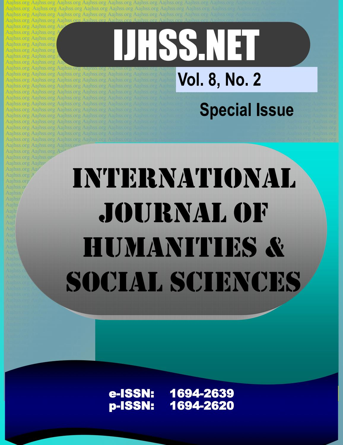 Vol 8 no 2 special issue by IJHSS - issuu