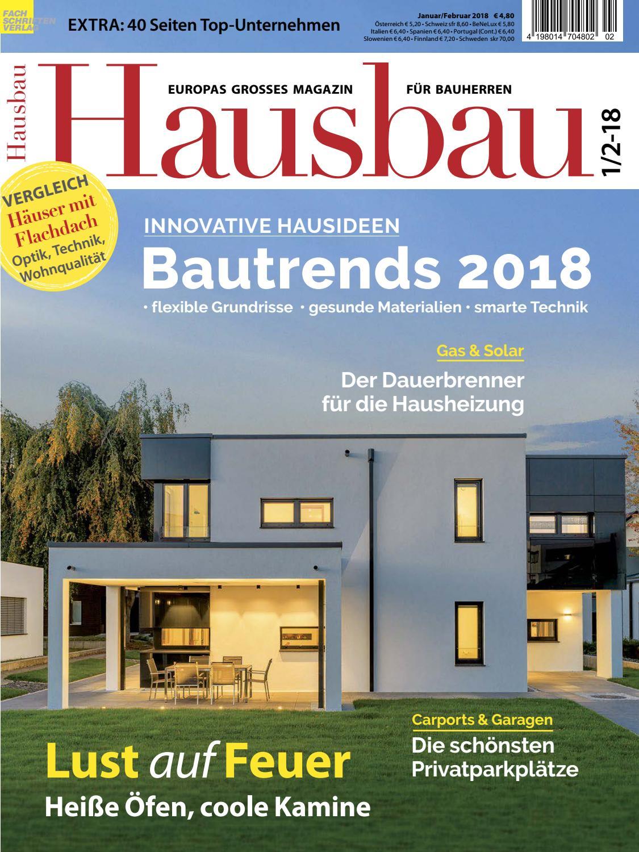 Hausbau 1/2-2018 by Fachschriften Verlag - issuu