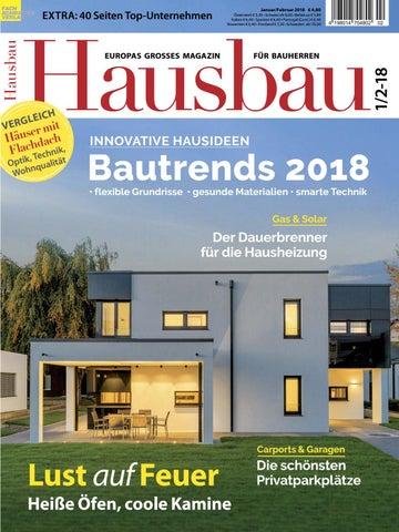 Hausbau 1/2 2018 By Fachschriften Verlag   Issuu