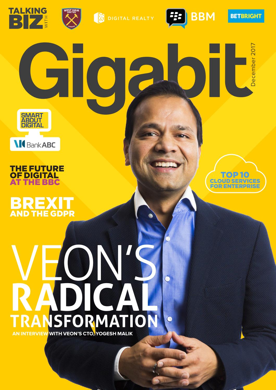 Gigabit December 2017 By Gigabit Issuu
