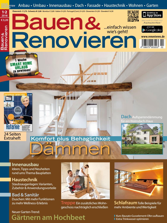 Bauen & Renovieren 1/2-2018 by Fachschriften Verlag - issuu