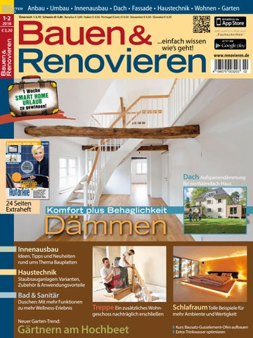 Bauen Renovieren 1 2 2018 By Fachschriften Verlag Issuu