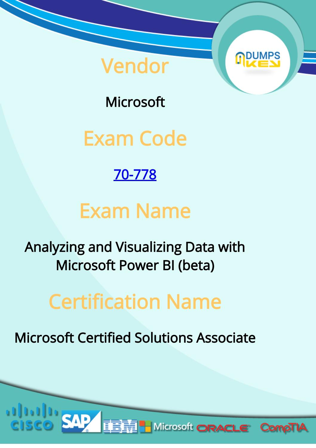 70 778 dumps microsoft 70 778 exam questions by dumps questions 70 778 dumps microsoft 70 778 exam questions by dumps questions 2017 issuu xflitez Gallery