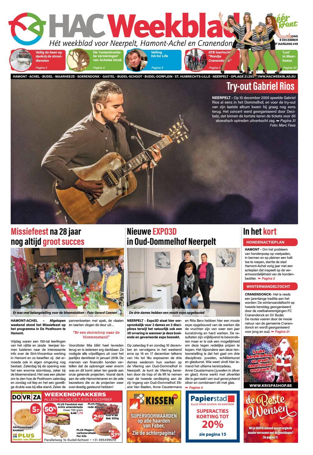 HAC Neerpelt week 49 2017 by HAC Weekblad - issuu a348cff519