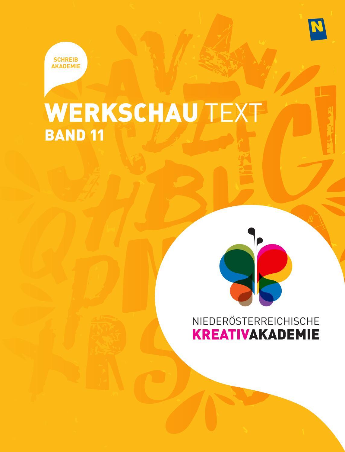 Werkschau Text Band 11 by NÖ KREATIV GmbH - issuu