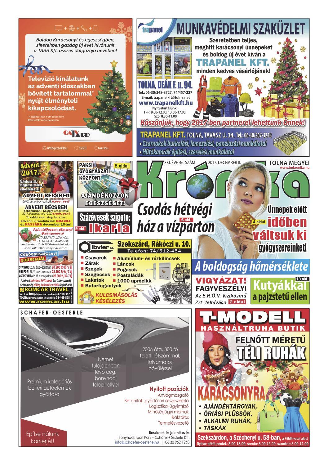 TM Kronika 2017 46 by Tolna Megyei Krónika - issuu a192bf5d31