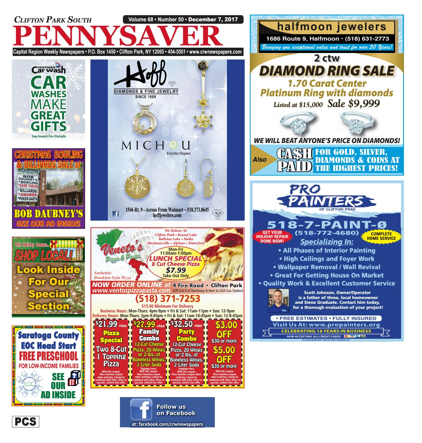 Clifton Park South Pennysaver 120717 by Capital Region Weekly ... 9290258c785d2