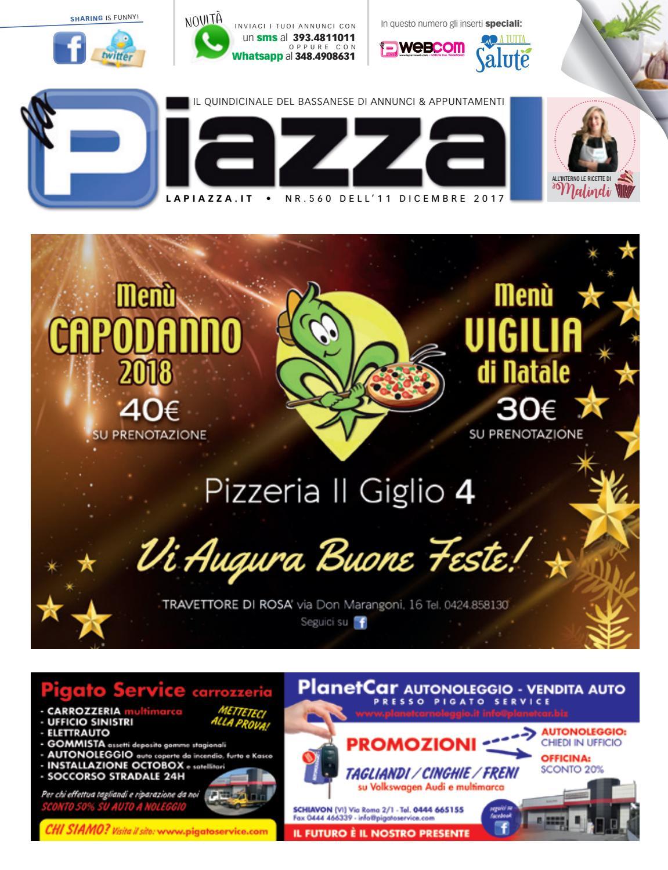 la Piazza Bassano 560 by la Piazza di Cavazzin Daniele - issuu d7e732dad63