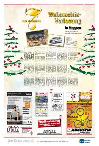 Weihnachtspreisausschreiben Meppen Teil Iii 2017 Meppener