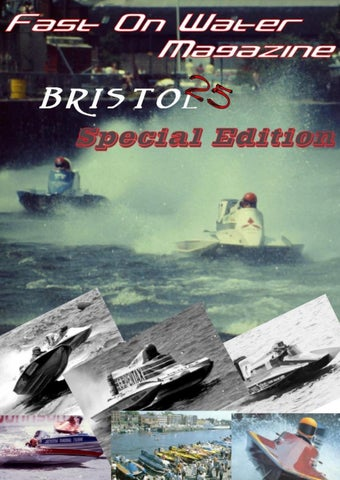 Fast On Water Magazine Bristol 25 Issue