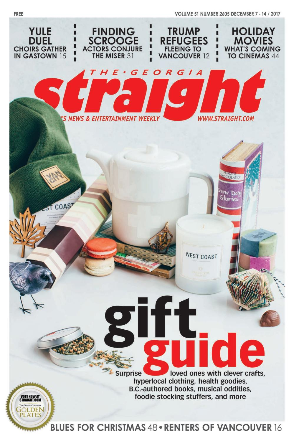 The Georgia Straight - Gift Guide - Dec 7 2017 by The Georgia ...