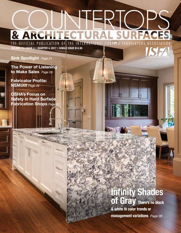 Isfa S Countertops Architectural Surfaces Vol 10 Issue 4