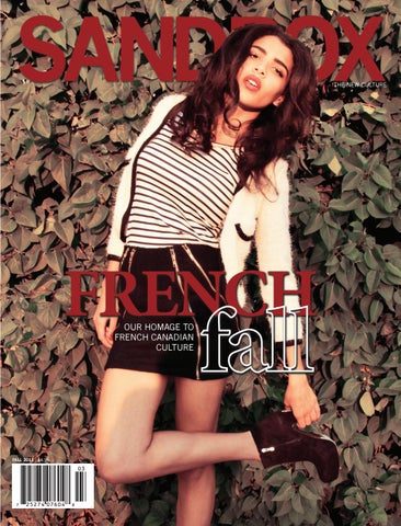 3e27a3ae6b8d The French Culture Issue (Fall 2011) by Sandbox Magazine - issuu