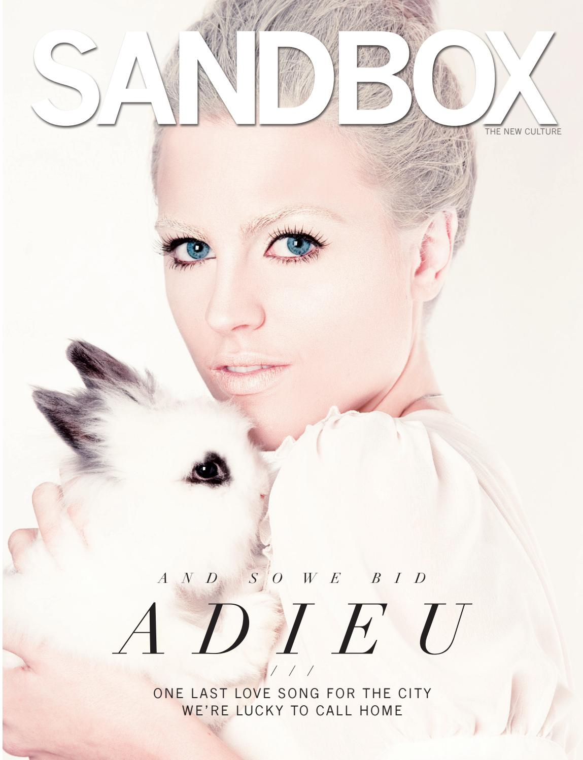 The Final Issue (Winter 2012) by Sandbox Magazine - issuu
