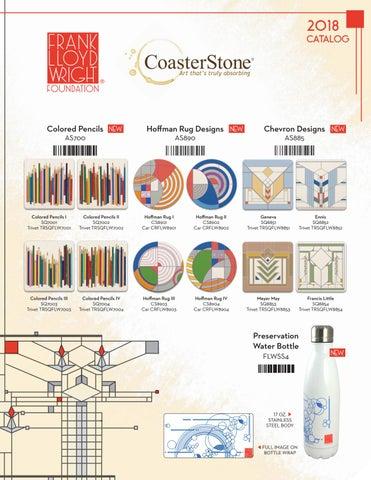 One Size Multicolored CoasterStone FLWMG807 Frank Lloyd Wright Tree of Life Mug
