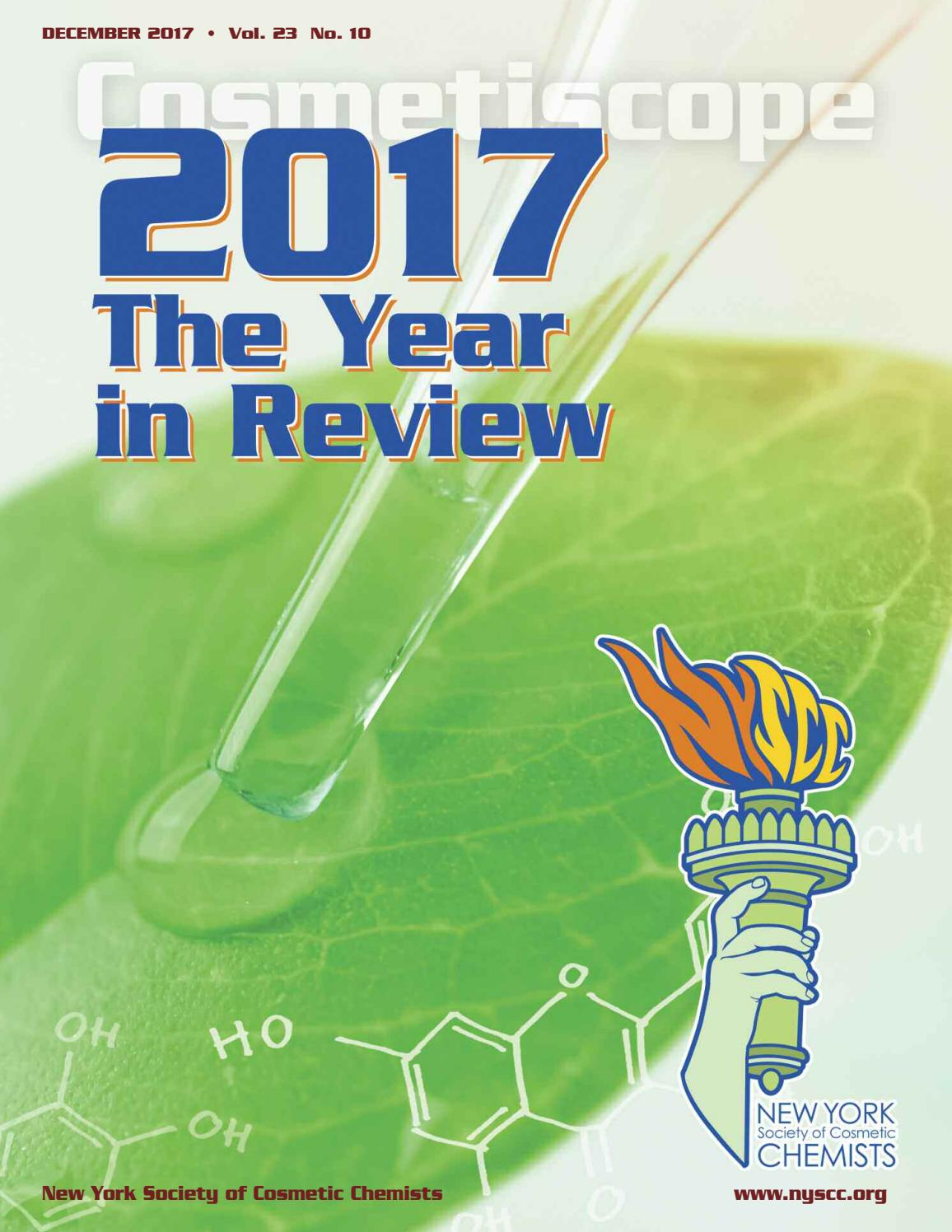 Cosmetiscope 12 2017 web by NYSCC Webmaster - issuu