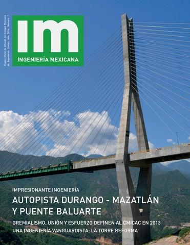 Revista Im Ingenieria Mexicana No 1 By Octavio Calderon Issuu