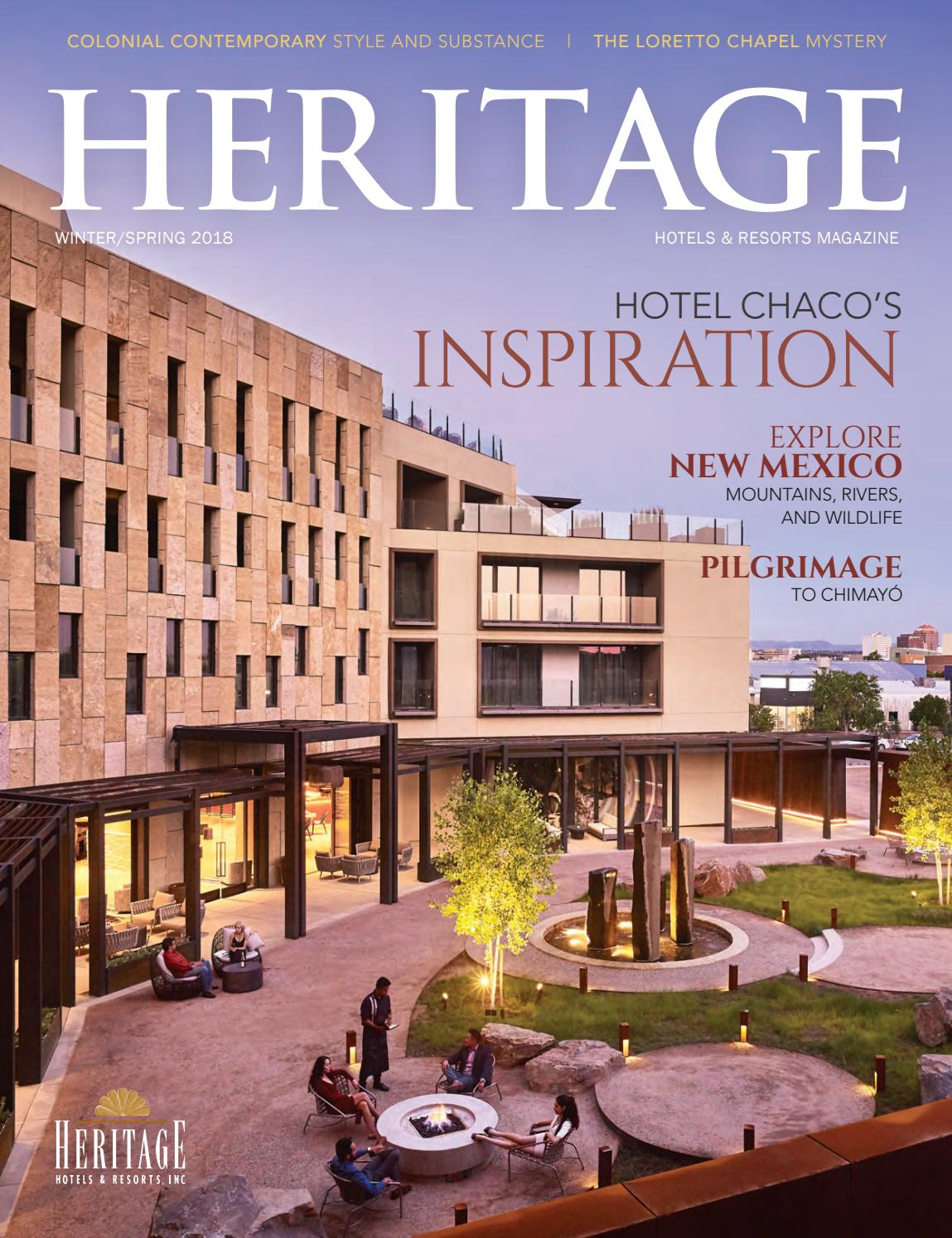 Heritage Winter Spring 2018 Issuu By Heritage Hotels And Resorts