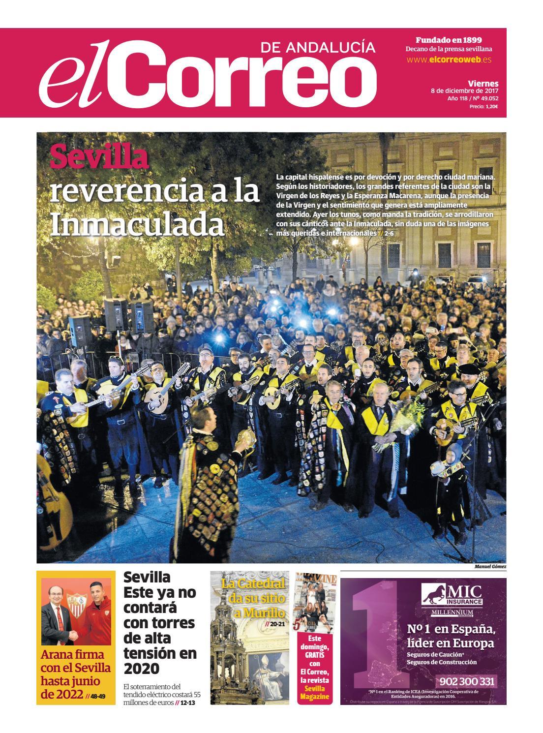 a0516279513d9 08.12.2017 El Correo de Andalucía by EL CORREO DE ANDALUCÍA S.L. - issuu