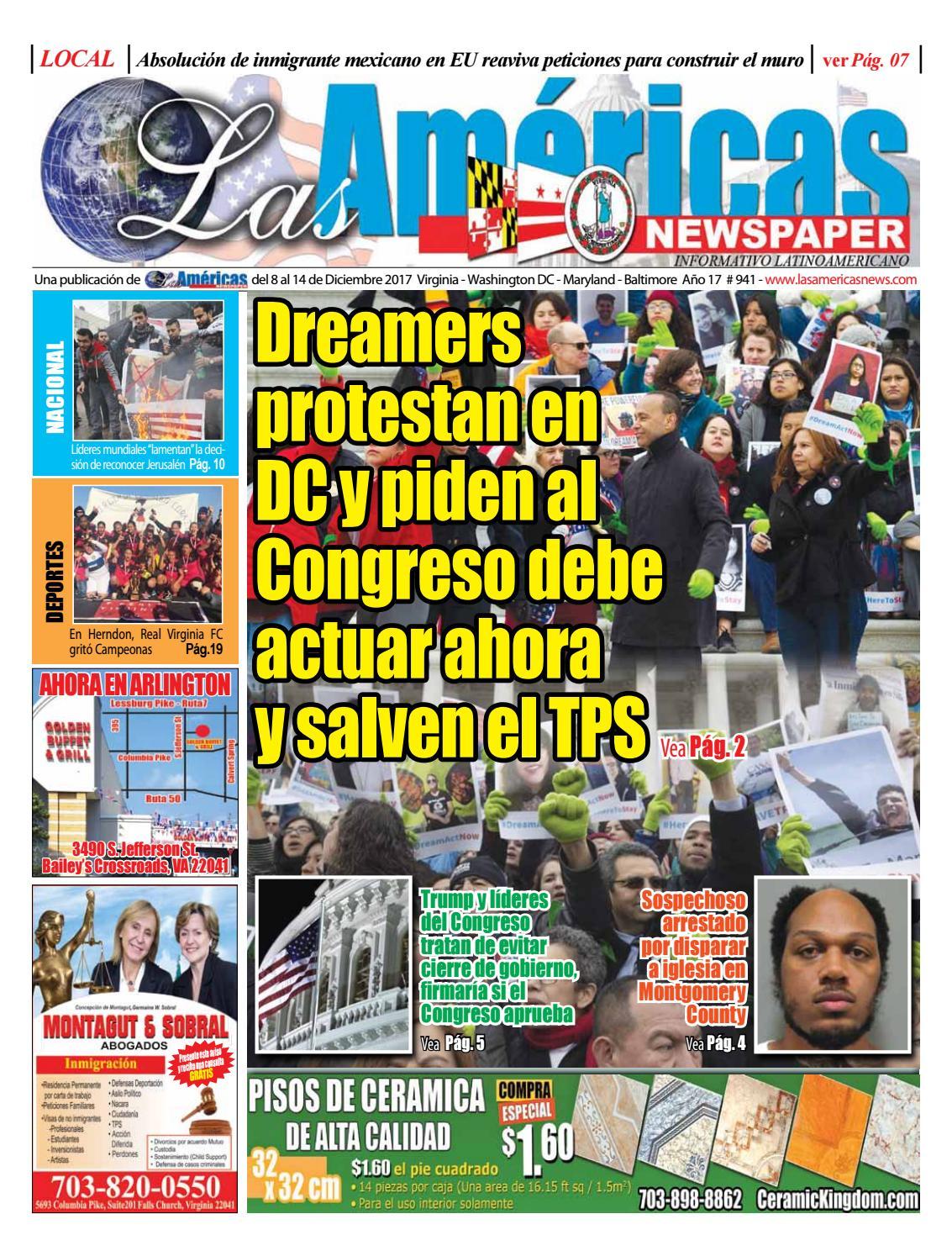 Dreamers protestan en Washington DC. y piden al Congreso justicia by Best  Printing & Design - issuu
