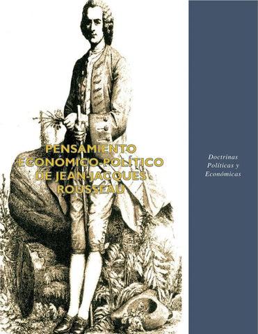 Pensamiento Económico Político De Jean Jacques Rousseau By