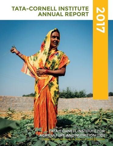 Tata Cornell Institute 2017 Annual Report By Tata Cornell