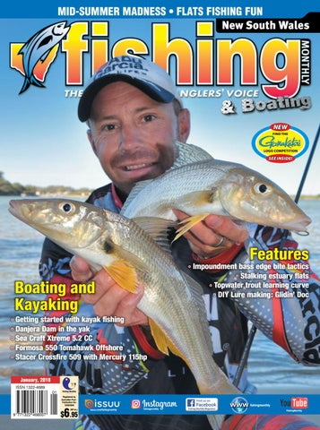 210641eadb NSW Fishing Monthly January 2018 by Fishing Monthly - issuu