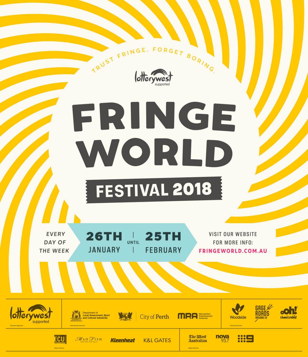 5a5a6db1576 FRINGE WORLD 2018 Festival Guide by Fringe World Festival - issuu