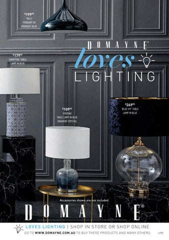 Domayne Loves Lighting By Generic Publications Issuu