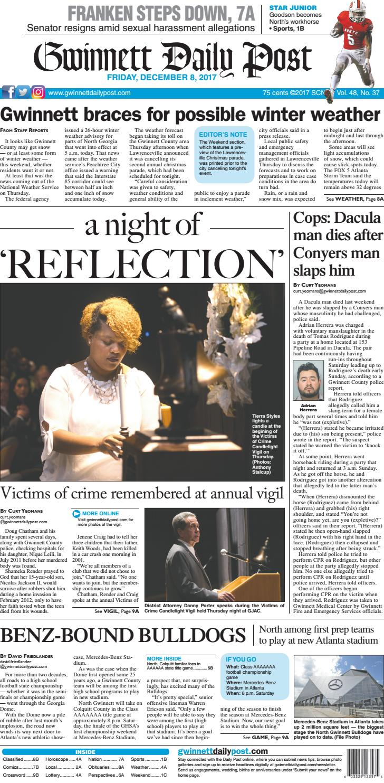Gwinnett Daily Post — December 8 db21d8f2e