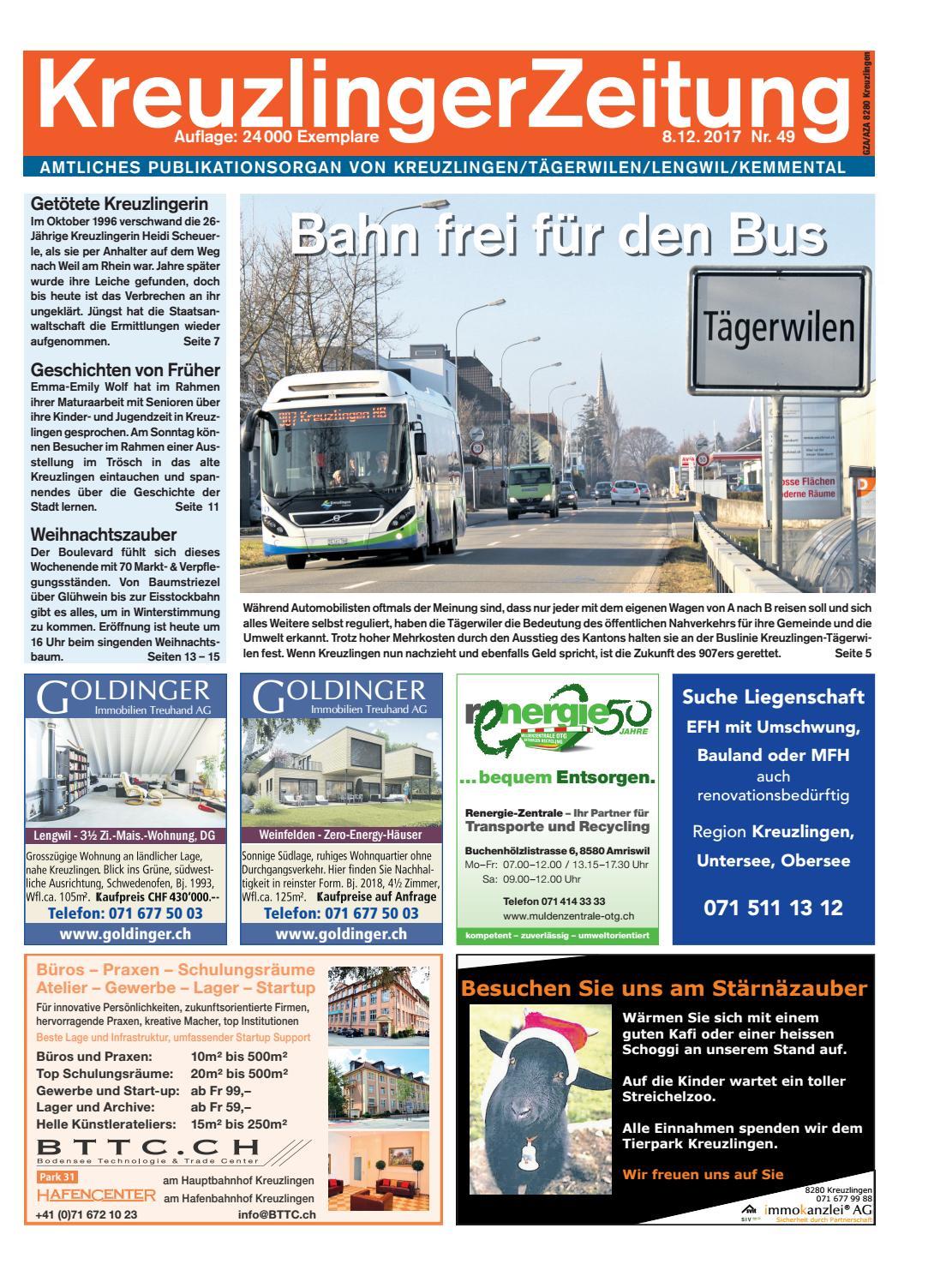 Kreuzlinger Zeitung vom 20. Mrz 2020 by KreuzlingerZeitung