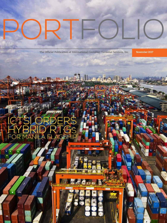 November 2017 portfolio philippine edition by ICTSI PRO - issuu