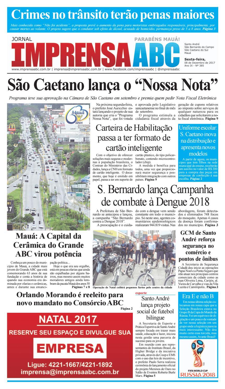 00254ad66 Jornal Imprensa do ABC - Edição 385 by Jornal Imprensa ABC - issuu