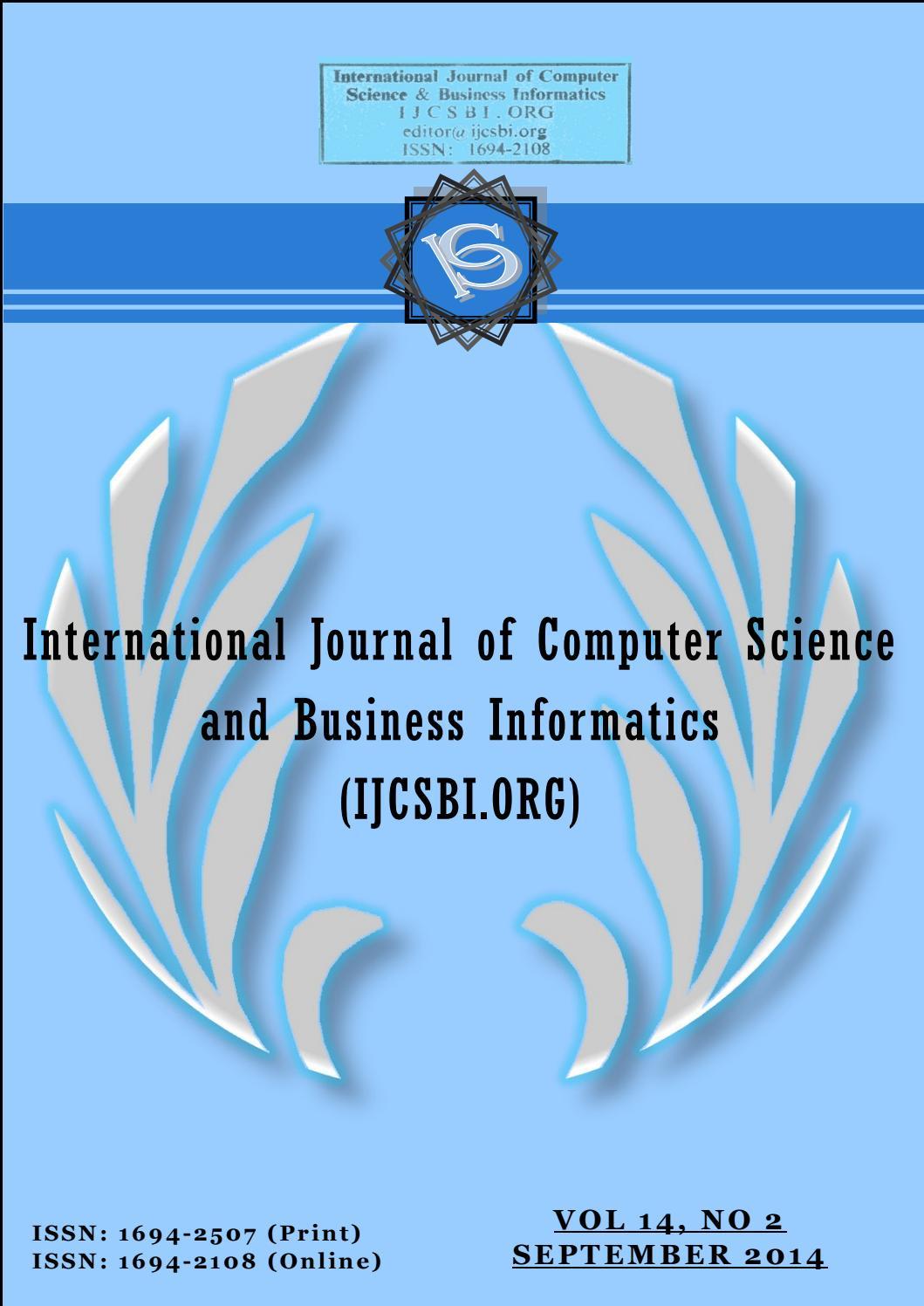 Vol 14 no 2 september 2014 by IJCSBI ORG - issuu