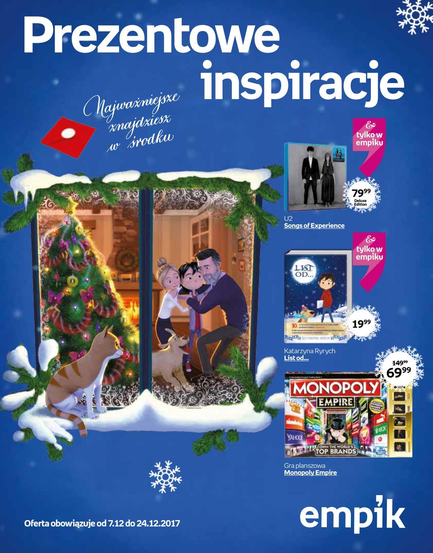 508244f541e6b Katalog świąteczny nr 3/2017 by empik - issuu