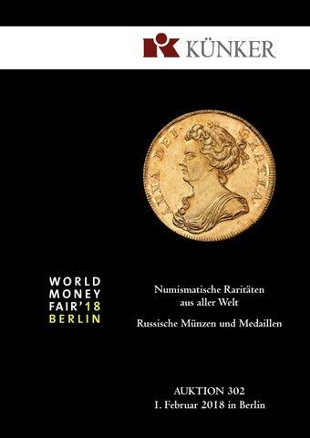 Künker Auktion 302 Numismatische Raritäten Aus Aller Welt