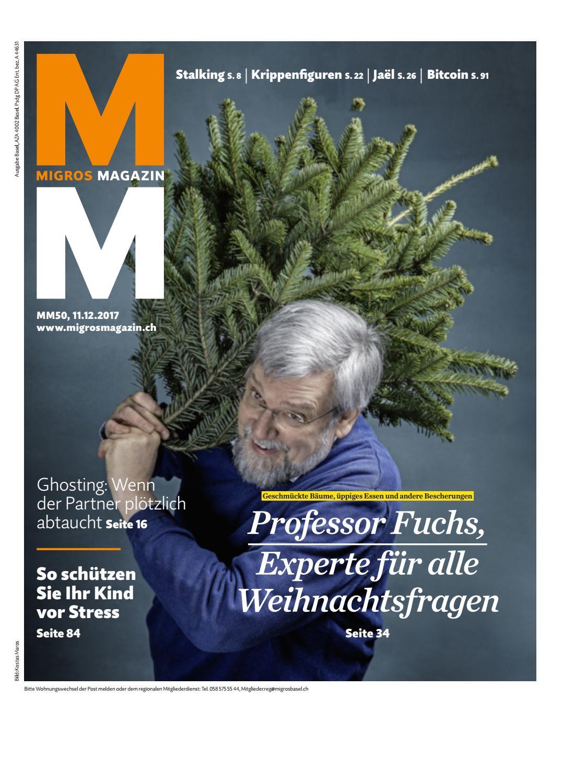 Migros magazin 50 2017 d bl by Migros-Genossenschafts-Bund - issuu