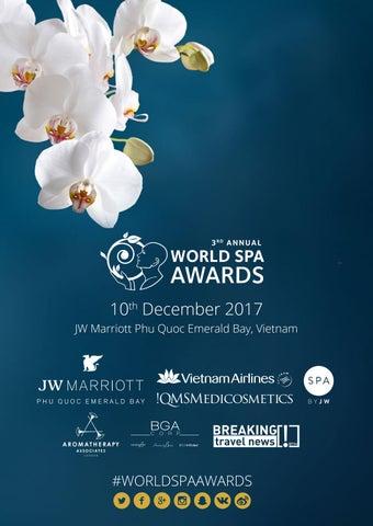 World Spa Awards 2017 By World Travel Awards Issuu