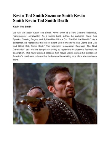 new products 4f462 e08f1 Kevin Tod Smith | Suzanne Smith Kevin Smith | Kevin Tod ...