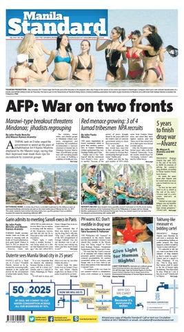 Manila Standard - 2017 December 09 - Saturday