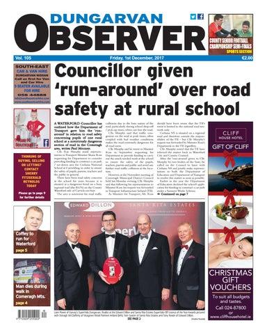 Dungarvan Observer 1 12 2017 Edition By Dungarvan Observer Issuu