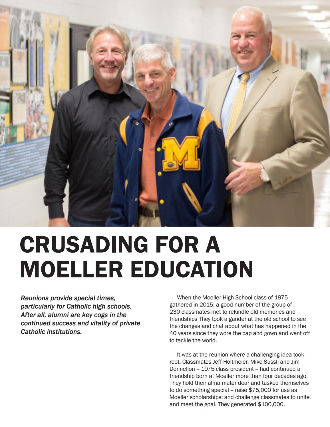 Class of 1975 news story by Archbishop Moeller High School ...