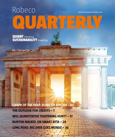 Robeco Quarterly December 2017 by Robeco - issuu